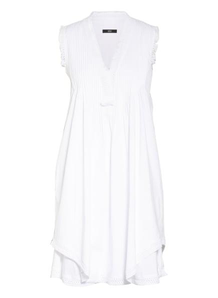 STEFFEN SCHRAUT Kleid mit Spitzenbesatz, Farbe: WEISS (Bild 1)