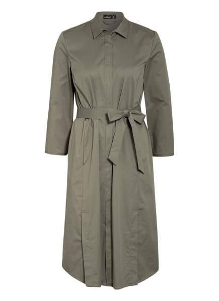 van Laack Hemdblusenkleid KAINA, Farbe: OLIV (Bild 1)