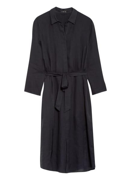 van Laack Hemdblusenkleid KAINA aus Leinen, Farbe: SCHWARZ (Bild 1)