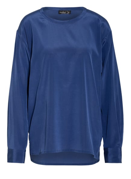 van Laack Blusenshirt BERIA aus Seide , Farbe: BLAU (Bild 1)