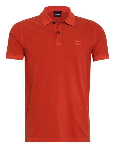 BOSS Piqué-Poloshirt PRIME Slim Fit, Farbe: HELLROT (Bild 1)
