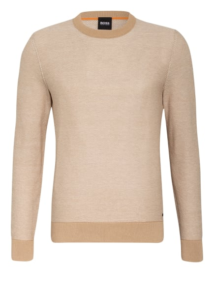 BOSS Pullover KAMARSOS, Farbe: BEIGE/ ECRU (Bild 1)