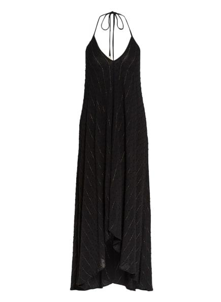 BANANA MOON COUTURE Strandkleid BAMIA mit Glitzergarn, Farbe: SCHWARZ (Bild 1)