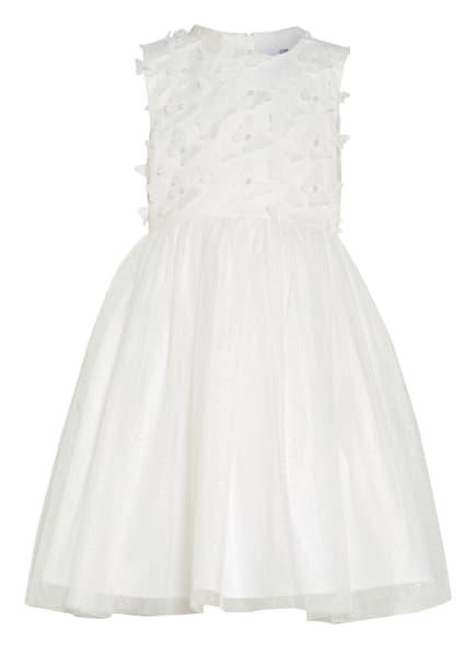 happy girls Kleid mit Perlenbesatz , Farbe: WEISS/ SILBER (Bild 1)