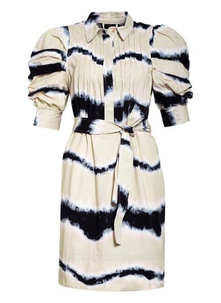 MUNTHE Kleid TUBA, Farbe: CAMEL/ BLAU/ WEISS (Bild 1)