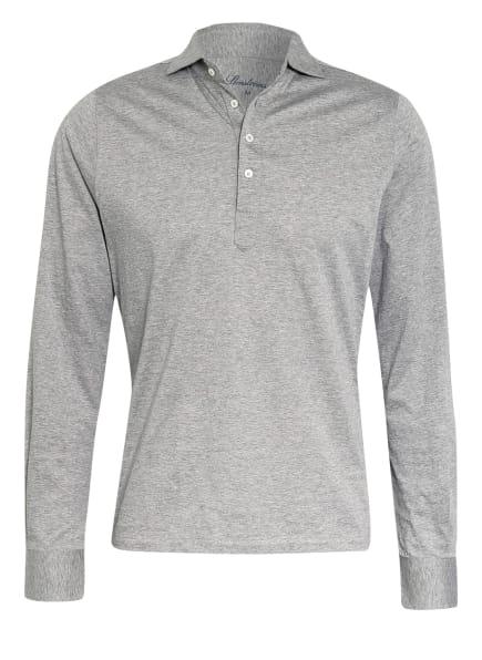 Stenströms Jersey-Poloshirt Straight Fit, Farbe: GRAU/ HELLGRAU (Bild 1)