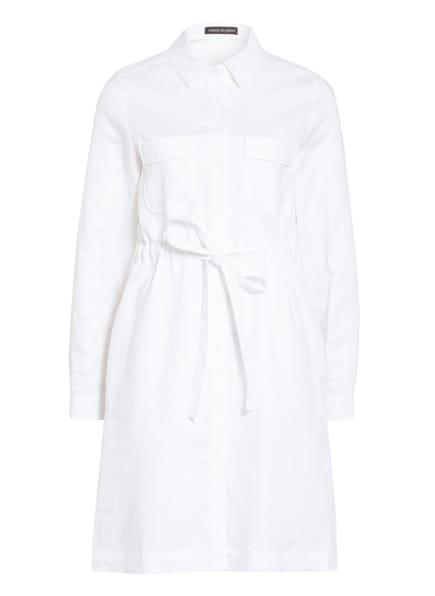 twenty six peers Hemdblusenkleid aus Leinen , Farbe: WEISS (Bild 1)