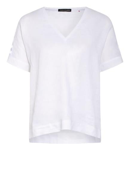 twenty six peers T-Shirt aus Leinen , Farbe: WEISS (Bild 1)
