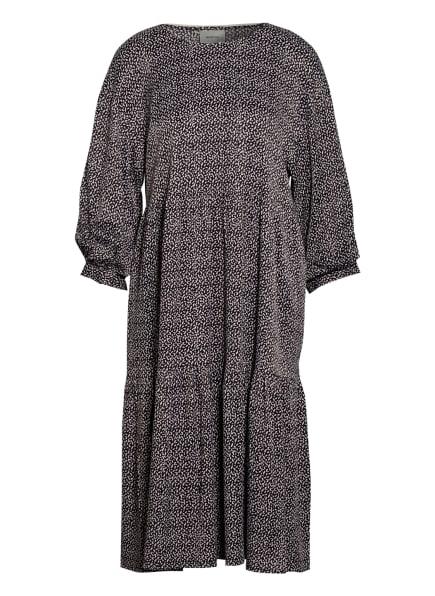 GESTUZ Kleid ILAGZ mit 3/4-Arm, Farbe: SCHWARZ/ NUDE (Bild 1)