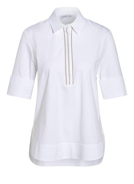 LOUIS and MIA Jersey-Poloshirt, Farbe: WEISS (Bild 1)