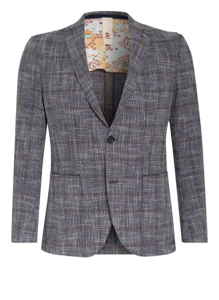 CG CLUB of GENTS Sakko ARIC Tailored Fit, Farbe: DUNKELBLAU/ CREME/ CAMEL (Bild 1)