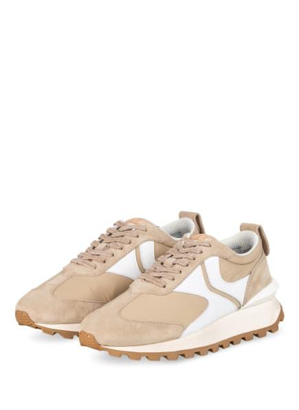 VOILE BLANCHE Plateau-Sneaker QWARK, Farbe: BEIGE/ WEISS (Bild 1)