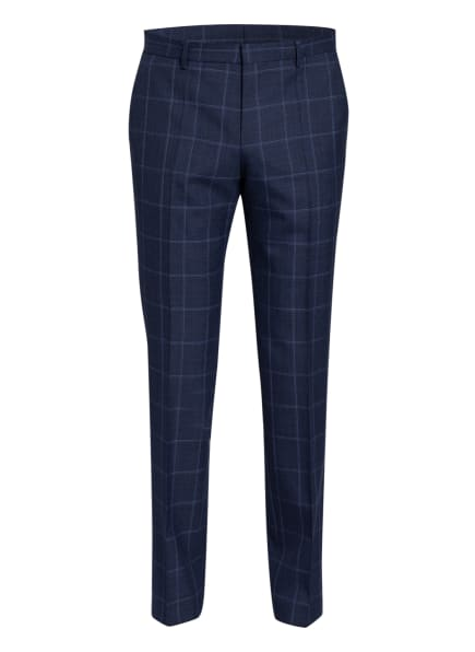BOSS Anzughose BEN Slim Fit, Farbe: DUNKELBLAU/ BLAU (Bild 1)