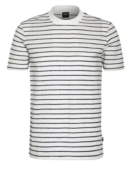 BOSS T-Shirt TIBURT, Farbe: WEISS/ SCHWARZ (Bild 1)