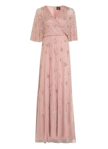 ADRIANNA PAPELL Abendkleid mit Paillettenbesatz, Farbe: ROSÉ (Bild 1)