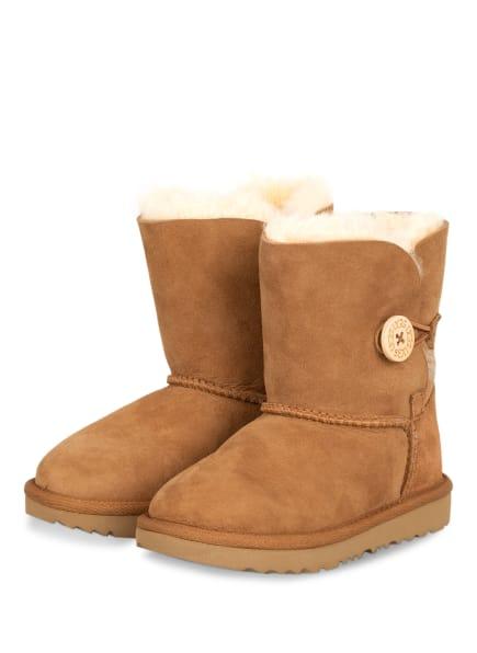 UGG Boots BAILEY BUTTON , Farbe: BRAUN (Bild 1)