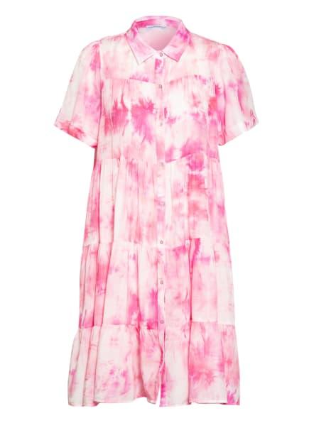 BETTER RICH Hemdblusenkleid, Farbe: PINK/ WEISS (Bild 1)