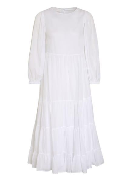 ottod'ame Kleid mit Volantbesatz, Farbe: WEISS (Bild 1)