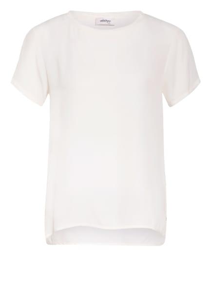 ottod'ame Blusenshirt mit Seide, Farbe: WEISS (Bild 1)