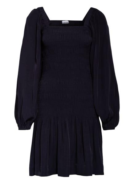 GANNI Kleid , Farbe: DUNKELBLAU (Bild 1)