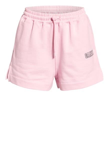 GANNI Sweatshorts , Farbe: ROSA (Bild 1)