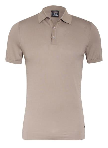 strellson Strick-Poloshirt VINCENT Regular Fit, Farbe: BEIGE (Bild 1)