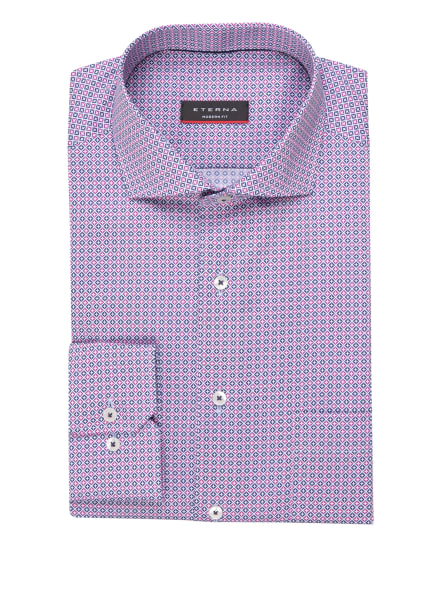 ETERNA Hemd Modern Fit, Farbe: WEISS/ PINK/ BLAU (Bild 1)