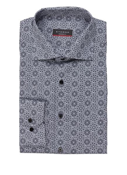 ETERNA Hemd Modern Fit, Farbe: DUNKELGRAU/ GRAU/ WEISS (Bild 1)
