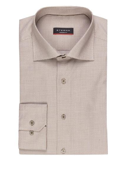 ETERNA Hemd Modern Fit, Farbe: BEIGE/ BRAUN (Bild 1)