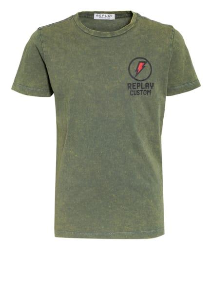 REPLAY T-Shirt, Farbe: OLIV (Bild 1)