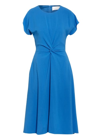 BOSS Kleid DATENA in Wickeloptik, Farbe: BLAU (Bild 1)