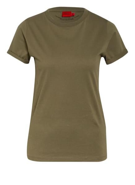 HUGO T-Shirt, Farbe: OLIV (Bild 1)