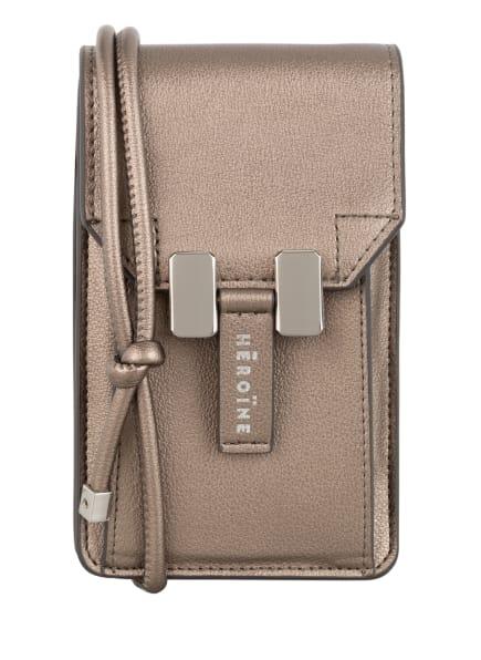 MAISON HÉROÏNE Smartphone-Tasche, Farbe: TAUPE (Bild 1)