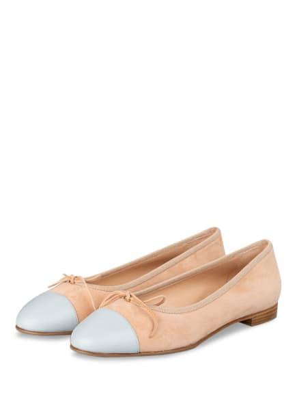 UNÜTZER Ballerinas, Farbe: ROSÉ/ HELLGRAU (Bild 1)