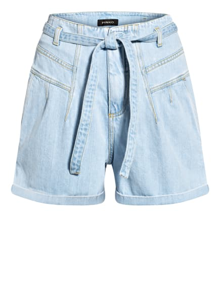 PINKO Jeans-Shorts TASHA, Farbe: F14 LIGHT BLUE (Bild 1)