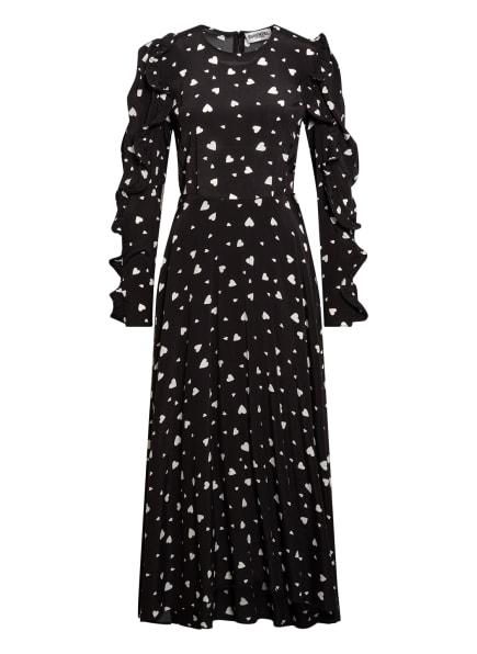 ESSENTIEL ANTWERP Kleid ZANGLE, Farbe: SCHWARZ/ WEISS (Bild 1)