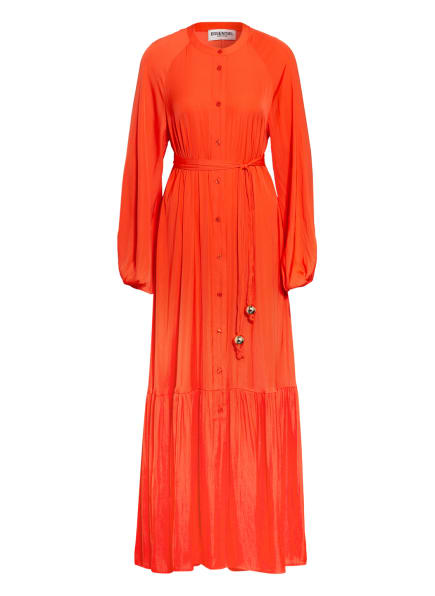 ESSENTIEL ANTWERP Hemdblusenkleid ZINCHILLA mit Volantbesatz, Farbe: ORANGE (Bild 1)