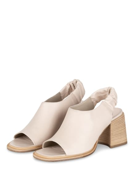 VIC MATIÉ Sandaletten, Farbe: CREME (Bild 1)