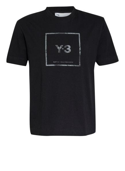 Y-3 T-Shirt U SQUARE, Farbe: SCHWARZ (Bild 1)