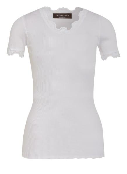 rosemunde T-Shirt BABETTE aus Seide, Farbe: WEISS (Bild 1)