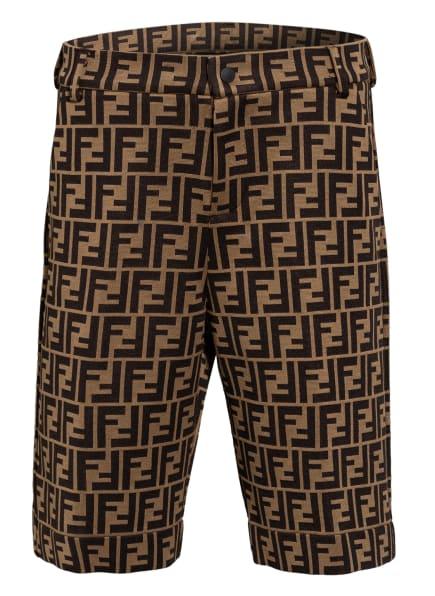 FENDI Shorts, Farbe: BRAUN/ HELLBRAUN (Bild 1)