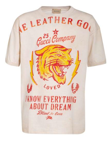 GUCCI T-Shirt, Farbe: ECRU/ DUNKELGELB/ ROT (Bild 1)