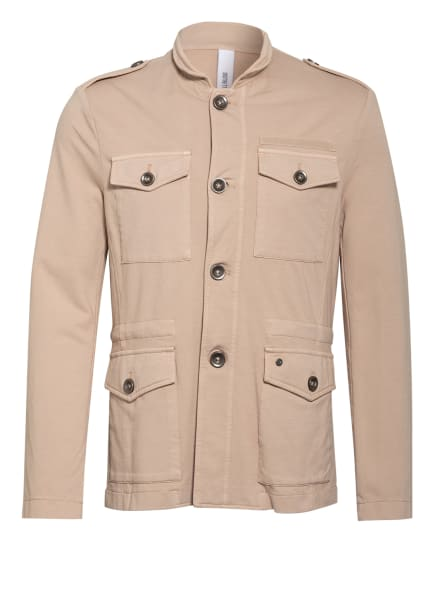 DISTRETTO 12 Sweatsakko SAHARIANA JONAS Regular Fit, Farbe: BEIGE (Bild 1)