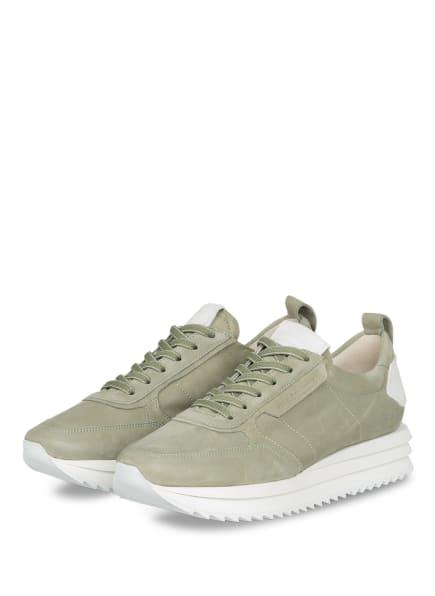 KENNEL & SCHMENGER Plateau-Sneaker JAZZ, Farbe: OLIV (Bild 1)