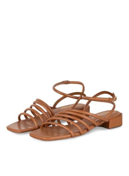 BRUNO PREMI Sandalen, Farbe: COGNAC (Bild 1)