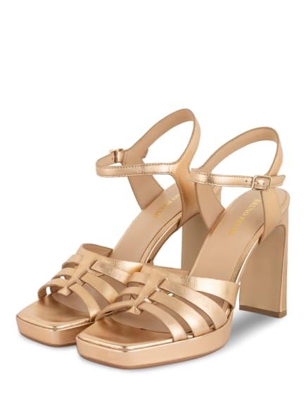 BRUNO PREMI Sandaletten, Farbe: GOLD (Bild 1)