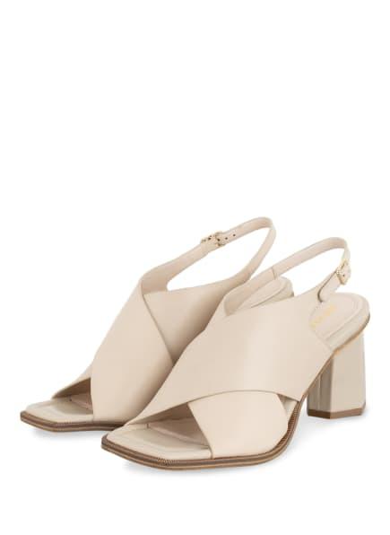 BRUNO PREMI Sandaletten, Farbe: CREME (Bild 1)