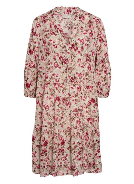 FREEQUENT Kleid , Farbe: CREME/ PINK/ HELLBRAUN (Bild 1)