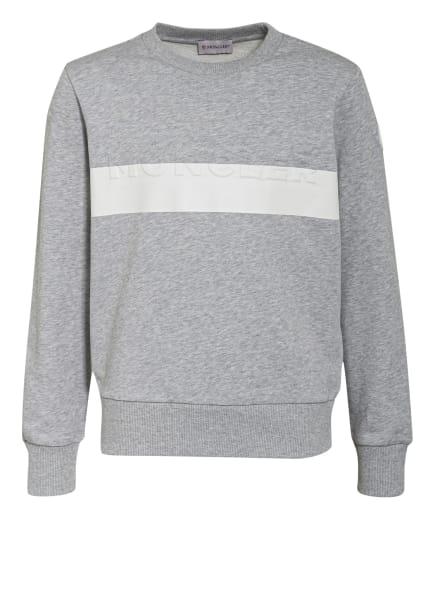 MONCLER enfant Sweatshirt , Farbe: GRAU/ WEISS (Bild 1)