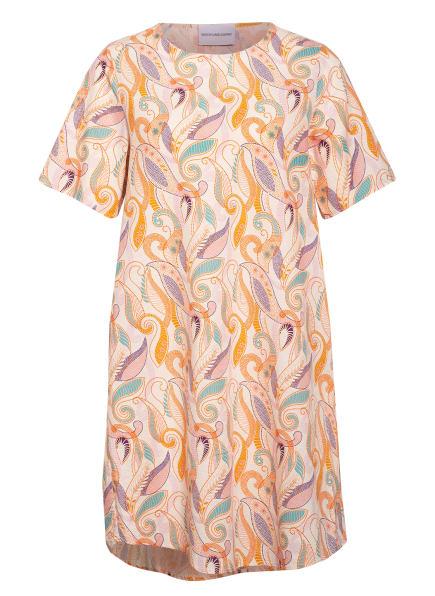 herzensangelegenheit Kleid mit Leinen, Farbe: ORANGE/ PETROL/ NUDE (Bild 1)